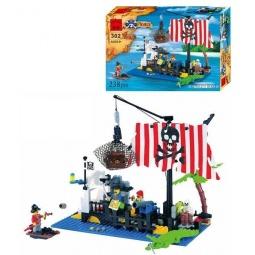фото Конструктор игровой Brick «Пиратский плот» 1717073