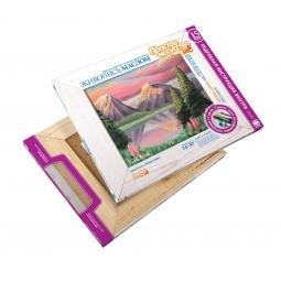 фото Набор для живописи масляными красками Фантазер «Озеро в горах»