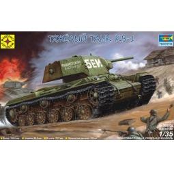 фото Сборная модель танка Моделист «КВ-1»