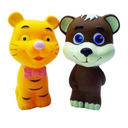 Купить Игрушка для ванны Жирафики «Медвежонок и тигрёнок»