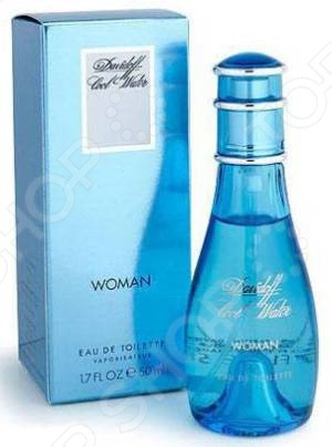 Туалетная вода-спрей для женщин Davidoff Cool water women, 50 мл туалетная вода davidoff game intense 60 мл
