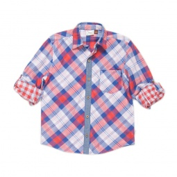 фото Рубашка с длинным рукавом на манжете Fore!! Axel and Hudson. Рост: 134-140 см