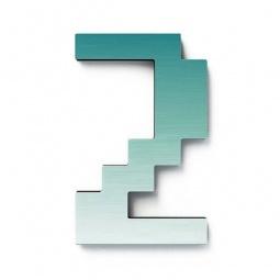 Купить Дверной номерок Студия Артемия Лебедева «Дигитус» 2
