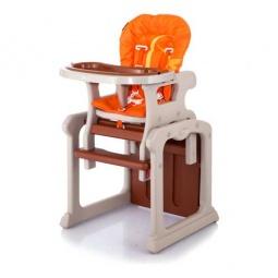 фото Стул для кормления Jetem Gracia. Цвет: оранжевый