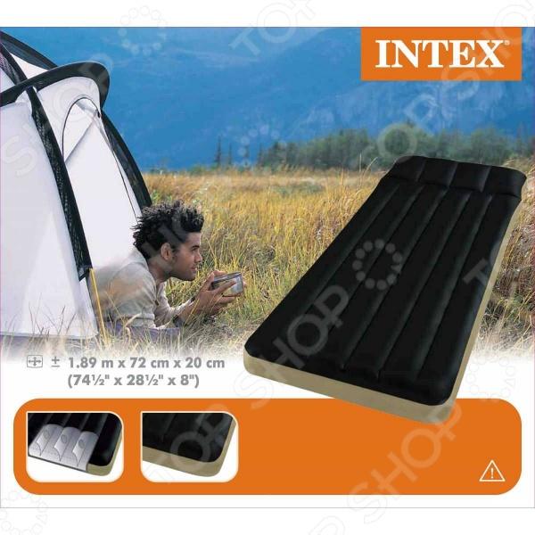 Матрас надувной кемпинговый Intex 68798