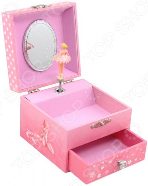 Музыкальная шкатулка Jakos 20000 музыкальная шкатулка jakos балерина цвет розовый