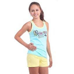 фото Комплект домашний для девочки Свитанак 206435. Рост: 158 см. Размер: 42