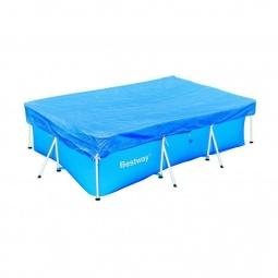 Купить Чехол защитный для бассейна прямоугольного на стойках Bestway 58105