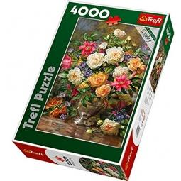Купить Пазл 4000 элементов Trefl «Цветы для королевы Елизаветы»
