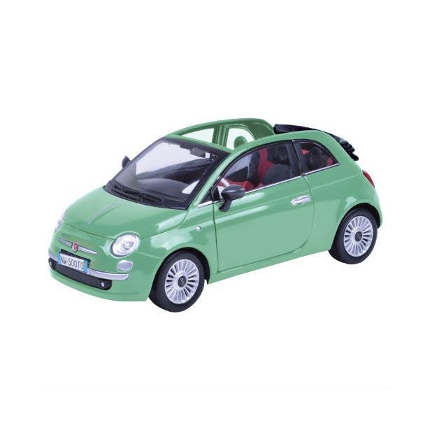 фото Модель автомобиля 1:24 Motormax Fiat Nuova 500 Cabrio. В ассортименте