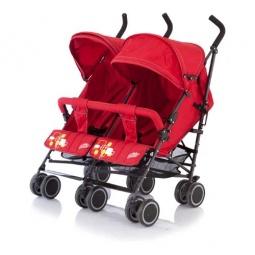 фото Коляска-трость Baby Care City Twin. Цвет: красный