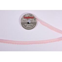 фото Тесьма кружевная ScrapBerry's. Ширина: 1,7 см. Цвет: розовый