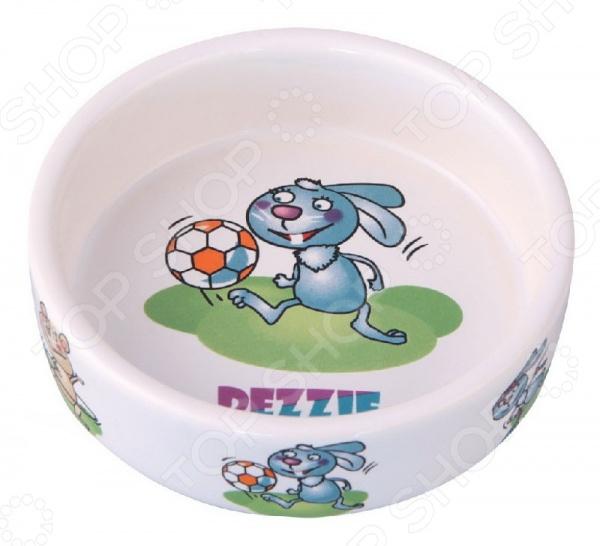 Миска для грызунов DEZZIE «Футболист» миска для кошек собак гамма n0