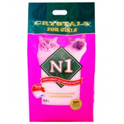 фото Наполнитель для кошачьего туалета Crystals For Girls 92214