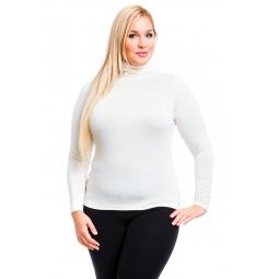 фото Водолазка Mondigo XL 046. Цвет: кремовый. Размер одежды: 50