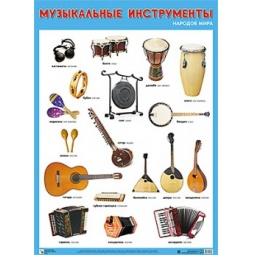 Купить Музыкальные инструменты народов мира