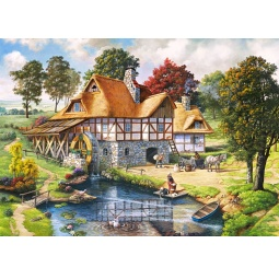Купить Пазл 2000 элементов Castorland «Водяная мельница»