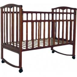 фото Кроватка детская Агат Золушка-1. Цвет: шоколадный