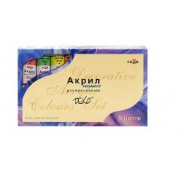 Купить Краски акриловые Гамма «Акрил Деко»