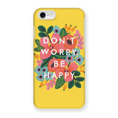 Купить Чехол для iPhone 5 Mitya Veselkov Don't worry на желтом