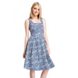 фото Платье Mondigo 5219. Цвет: темно-синий. Размер одежды: 42