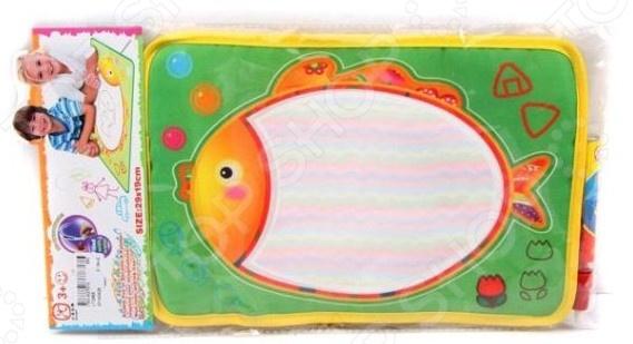 Коврик для рисования водным маркером Shantou Gepai «Рыбка»