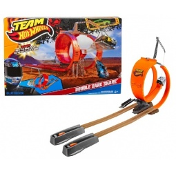 фото Набор игровой для мальчиков Mattel Трасса. Команда над каньоном