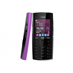 фото Мобильный телефон Nokia X 2-02. Цвет: фиолетовый