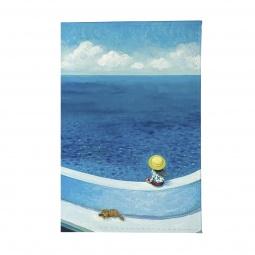 фото Обложка для паспорта Mitya Veselkov «Малыш и пес у моря»