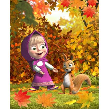 Купить Плед Непоседа «Маша и осень»