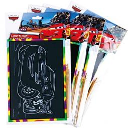 Купить Набор для изготовления цветных гравюр Multiart Тачки. В ассортименте