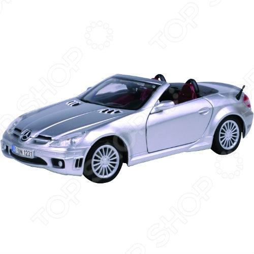 Модель автомобиля 1:24 Motormax Mercedes-Benz SLK55 АMG. В ассортименте