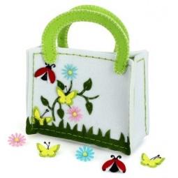 фото Набор для изготовления сумочки из фетра Color Puppy «Летняя полянка»