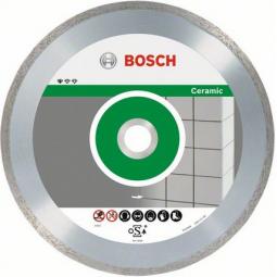 Купить Диск отрезной алмазный для резки плитки Bosch Professional for Ceramic 2608602539