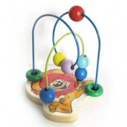 фото Игрушка развивающая для малыша Союзмультфильм «Логика с бусинками. Львенок»