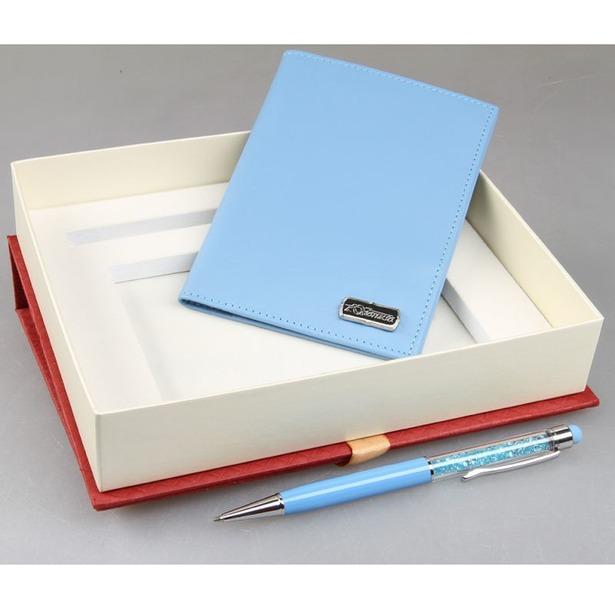 фото Набор: обложка для паспорта и ручка-стилус Venuse 76020