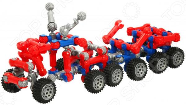 Конструктор шарнирный ZOOB MOBILE Car DesignerДругие виды конструкторов<br>Конструктор шарнирный ZOOB MOBILE Car Designer оригинальный набор для маленьких строителей, состоящий из множества деталей, которые могут быть собраны в игрушку. Этот набор предлагает невероятные возможности по соединению и общей сборке. Детали могут соединятся между собой 20 способами, образовывать подвижные и фиксированные соединения. Детский конструктор является достаточно практичным учебным пособием, так как он развивает память, мышление, логику, фантазию, а также моторику рук. Сборка конструктора подарит ребенку массу удовольствия и приятное времяпрепровождение.<br>