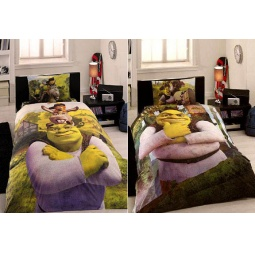 фото Детский комплект постельного белья TAC Shrek three in one