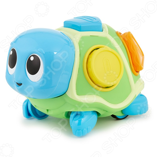 Игрушка развивающая для малыша Little Tikes «Ползающая черепаха-сортер» игрушка развивающая little tikes 634956 литл тайкс юла