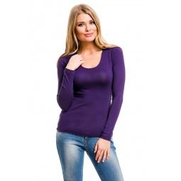 фото Кофта Mondigo 436. Цвет: темно-фиолетовый. Размер одежды: 42