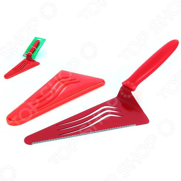 Лопатка-нож для торта Elan Gallery 590205 наборы кухонных принадлежностей elan gallery набор лопатка кисточка