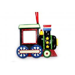 фото Елочное украшение Crystal Deco «Рождественский паровозик»