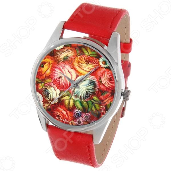Часы наручные Mitya Veselkov «Жостово-2» Color часы наручные mitya veselkov райский сад color
