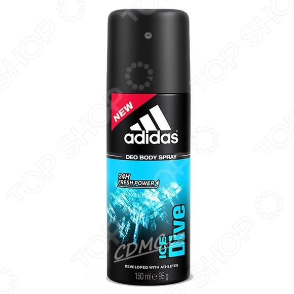 Дезодорант-спрей мужской Adidas Ice Dive дезодорант спрей для тела tm crystal