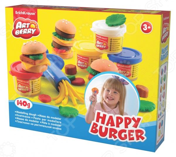 ��������� �� ������������ ������ Erich Krause Happy Burger
