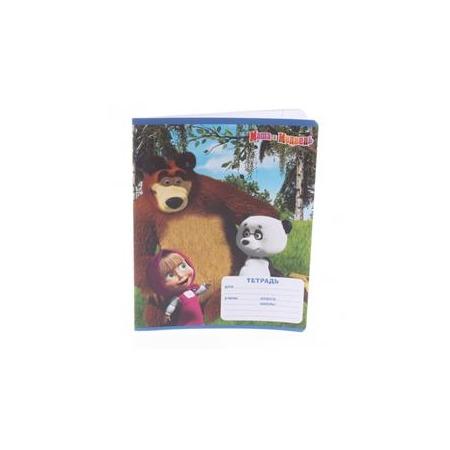 Купить Тетрадь в крупную клетку Росмэн «Маша и Медведь» 3