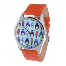 фото Часы наручные Mitya Veselkov «Пингвины и эскимо» Color