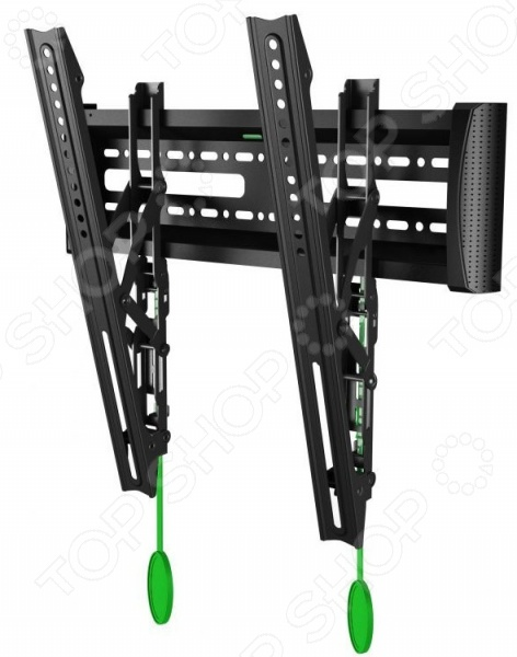 Кронштейн для телевизора North Bayou NB C2-TКронштейны для телевизоров<br>Кронштейн для телевизора North Bayou NB C2-T это надежное приспособление для крепления LCD LED телевизоров в удобном для просмотра месте. Кронштейн подходит для моделей с максимальной диагональю экрана 55 . Благодаря крепкой конструкции на этом кронштейне телевизор можно расположить максимально близко к стене. Есть встроенный уровень. Сделан из холоднокатаной стали.<br>