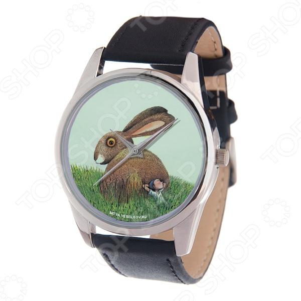 Часы наручные Mitya Veselkov «Сон о большом кролике» MV часы наручные mitya veselkov часы mitya veselkov одри на белом курит арт mv 38