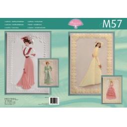 Купить Набор схем для парчмента Pergamano M57 Couture